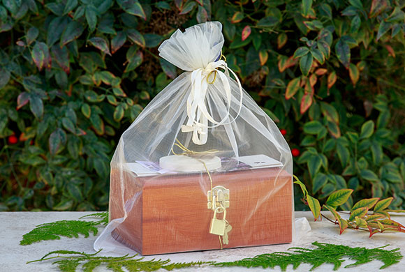 wooden cremation box